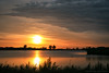 Sunset over Haarrijnse Plas (mesocyclone70) Tags: sunset sun sky clouds cloudscape water reflections utrecht holland netherlands color colour scenic scenics lake twilight sunrise atmosphere skyscape