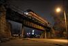 AMTK 130 (Justin Hardecopf) Tags: amtk amtrak 130 ge p42 phaseii 5 californiazephyr passenger bridge overpass omaha nebraska railroad train