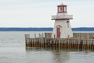 NS-00135 - Belliveau Cove Lighthouse