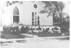 Knox County Kentucky - Sunday Morning Congregation (1910?) (Brett Streutker) Tags: lutheran methodist episcopal assemblies apostolic fundamentalist nostalgia antique school religion time old israeli israel palastine joseph mary diciples apostles samaria jerusalem bethlehem brirth passover christmas herod thus version international standard american new james king moody seminary conference epistles gospels john enemy devil satan antichrist son tribulation revelation study verse psalm tent meeting gospel evangelical saved again born jehovah yahweh god rapture scriptures bible he made creationism creation science jesus creator christ easter 2017 stars