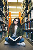 Library (jaminjan96) Tags: travel adventure explore sports blackandwhite portrait girl female model vsco film library starbucks ad brand content vegas spring break vacation school