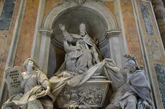 Grabstein von Gregor XIII. (Markus Wollny) Tags: city vatikan rom cittàdelvaticano vatikanstadt it
