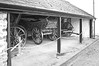 Llwyn-yr-Eos Farm - carts (cmw_1965) Tags: llwynyreos st fagans museum cardiff wales cymru farm farmstead house farmhouse agricultural rural grade 2 listed historic interwar 18th eighteenth century georgian victorian edwardian early 19th nineteenth cart carts rick hayrick wain haywain black white monochrome