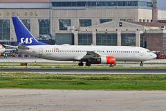 LN-RRS Boeing 737-883 SAS Norge AGP 25-02-18 (PlanecrazyUK) Tags: lemg malaga–costadelsolairport malaga costadelsol lnrrs boeing737883 sasnorge agp 250218