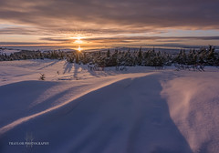 Double Sunset (Traylor Photography) Tags: alaska glennalps landscape sunset nature hillside flattop mountain colors anchorage unitedstates us