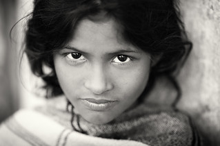 Bangladesh, beautiful girl in Khulna