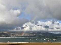Arco Iris en playa de las Canteras (Miguelángel) Tags: arcoiris rainbow playacanteras canteras canarias canaryislands grancanaria