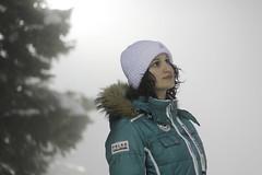(kattheraccoon) Tags: canon canoneos canoneos1300d art photography snow serbia kopaonik winter white cold portrait girl pretty fog night