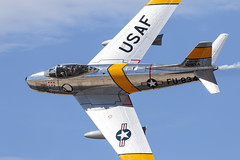 F-86 Sabre (Trent Bell) Tags: lancaster foxairfield airport losangelescounty airshow 2017 california aircraft northamerican f86 sabre warbird