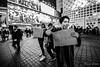 Free Hugs (Mario Rasso) Tags: mariorasso nikon japan people hug tokio tokyo asia street streetphotography urban night