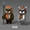 Ewok (LEGO 7) Tags: ewok starwars lego ldd moc
