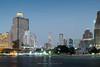 Bangkok and the Skyline of Sathorn by Chao Phraya River (aey.somsawat) Tags: centrepointhotelsilom cityscape ibischaroennakorn shangrilahotel tarksinbridge twilight viewpoint viewpointalongchaophrayariver