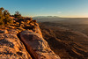 Grand View Point (Pulver41) Tags: canyonlandsnationalpark grandviewpoint lasalmountains utah moab landscape desert sunrise canyon light nature mountains
