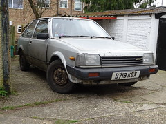 1984 Mazda 323 1.3 5-Speed (Neil's classics) Tags: vehicle car 1984 mazda 323