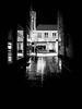 00:56 (Ewedan Photography) Tags: fusgängerzone regen nachts nacht night bergedorf schnee regenschirm schirm mensch spazieren sachsentor blackwhite bw schwarzweiss fujifilm xt10 licht lichter