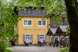 Ausflugslokal am Kuhstein-Felsen