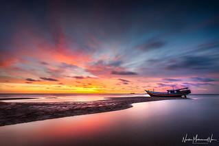 Sunset at Merauke