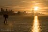 Sun Setting Behind Bay Bridge (Laura Macky) Tags: baybridge sanfrancisco sunset landscape bridge