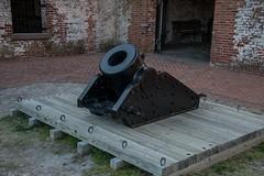 DSC_6770 (Copy) (pandjt) Tags: roadtrip unitedstates usa northcarolina fortmaconnc statepark fortmacon 10inchsiegemortar siege mortar cannon