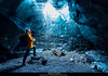 Ice Cave (JoshuaSYChang) Tags: cave nature people underground rockobject horror dark adventure deep stalactite exploration tunnel mountain spooky stalagmite d850 nikon ice icecave water