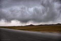 Swirling clouds (Chris Brady 737) Tags: clouds virga cumulonimbus iran weather rain