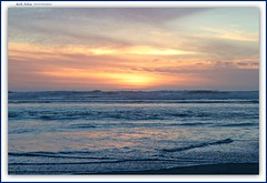 the blues of the evening sea... (MEA Images) Tags: sunset beach water waterscape waterscene clouds waves tide pacificocean capedisappointment washington canon picmonkey