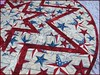 827_Patriotic Stars on Wood Table Topper Red_g (QuiltinWaYnE) Tags: quilted handmade kitchentabledecor diningtabledecor coffeetabledecor tablemat tabletopper tabledecor quiltedtabletopper quiltsy etsyseller etsyquilter etsy etsyshop etsyhandmade qqqetsy quiltedtabledecor tablelinen handmadequilt tablequilt americana patriotic