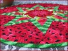 828_Watermelon Table Topper_h (QuiltinWaYnE) Tags: quilted handmade kitchentabledecor diningtabledecor coffeetabledecor tablemat tabletopper tabledecor quiltedtabletopper quiltsy etsyseller etsyquilter etsy etsyshop etsyhandmade qqqetsy quiltedtabledecor tablelinen handmadequilt tablequilt watermelon