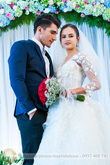 Wedding event nikon (Hosting and Web Development) Tags: wedding bride bridegroom dress white flower smile hair happy red shoulder hand arm body beautiful eyes stand vertical indoor event two person couple