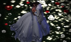 15. Sweeping Kiss (Nora Mae Julian) Tags: weddings secondlife wedding sl marriage serendipity romance