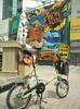 Fool's day ride :-)  #miyatafolio #foldingbikeuae #foldingbikeae #cyclist #miyata (nakamurasan) Tags: cyclist miyatafolio miyata foldingbikeuae foldingbikeae