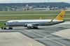 Boeing 767-31BER D-ABUM Condor (EI-DTG) Tags: planespotting aircraftspotting frankfurtairport fra 10apr2018 boeing boeing767 b767 dabum eicrp condor retrocolours