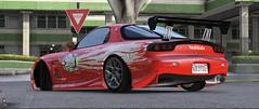 Grand Theft Auto V (SocialEmble_gta) Tags: mazda rx7 grand theft auto v