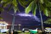 Lightning Over Diamond Head Honolulu Hawaii April 13, 2018 (Anthony Quintano) Tags: hawaiiweather lightning oahu honolulu hawaii waikiki palmtrees diamondhead clouds