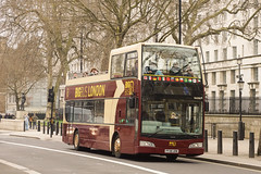 Big Bus, London - PF08 URW (peco59) Tags: pf08urw volvo b9tl b9 eastlancashire eastlancs bigbuslondon bigbustours bigbuscompany psv pcv opentopbus da206