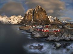 Fishing village in Norway (Sergey-Aleshchenko) Tags: d850 nikon winter lofoten hamnoy