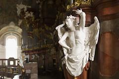 Organy Michaela Englera w Krzeszowie (Krzeszów - Europejska Perła Baroku, Sanktuarium ) Tags: bokeh panorama brenizer method bokehpanorama brenizermethod krzeszów church kościół