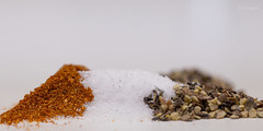 Macro Mondays - Condiment (Normann Photography) Tags: 162018 condiment macromondays hmm mm paprika pepper salt