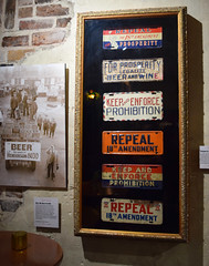 Metal Placards (RockN) Tags: prohibition opposition prohibitionmuseum march2018 savannah georgia