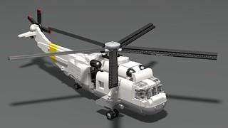 SH-3 Sea King Render