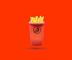 #macfries #Mc´Waste #junkfood (vlekuona) Tags: