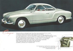 1960 VW Karmann Ghia (Hugo-90) Tags: vw volkswagen ads advertising brochure catalog car auto automobile 1960 karmann ghia coupe