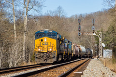 RB Cabin (Kyle Yunker) Tags: csx es44ah ge general electric signals rb cabin