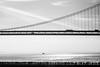 A Sense of Wonder (Thomas Hawk) Tags: america bayarea baybridge california sf sfbayarea sanfrancisco usa unitedstates unitedstatesofamerica westcoast bridge bw silhouette fav10 fav25 fav50 fav100