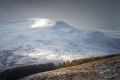 Fan Fawr (Rich Walker75) Tags: brecon beacons powys wales landscape landscapes landscapephotography mountain mountains sunlight cloud sky trees tree landmark landmarks canon eos100d efs1585mmisusm eos