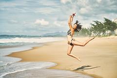 Ballerina (alcure85) Tags: ifttt 500px portraits ballerina bailarina ballet beach praia woman girl