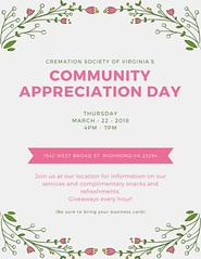 Cremation Society of Virginia, Richmond - Community Appreciation Day