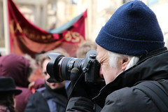 IMG_1620 Canon Camera man (marinbiker 1961) Tags: cameras photographers camera dslr portrait beeny hat glasgow antiracism