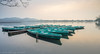 Boats after sunrise (christophschubert) Tags: asia china hangzhou sucauseway westlake westsee zhejiang boats calm colors dawn landscape morning pastel reflection sunrise water 中国 杭州 浙江 西湖 contax carlzeiss zeiss distagon longexposure