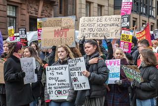 Glasgow Anti Racism March 03/18